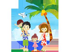ハワイの過ごし方